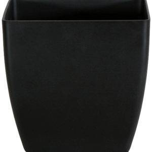 Square Planter in Matte Black